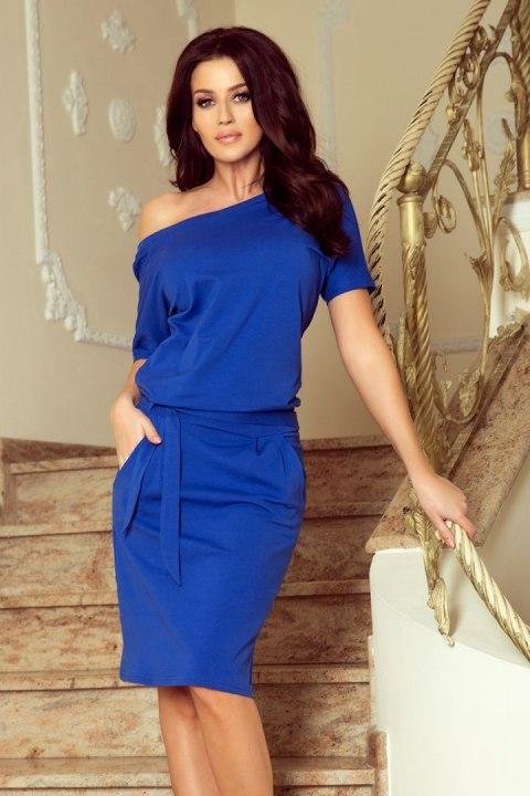 1ce8bc3dee 249-1 CASSIE sukienka z krótkim rękawkiem - CHABROWA